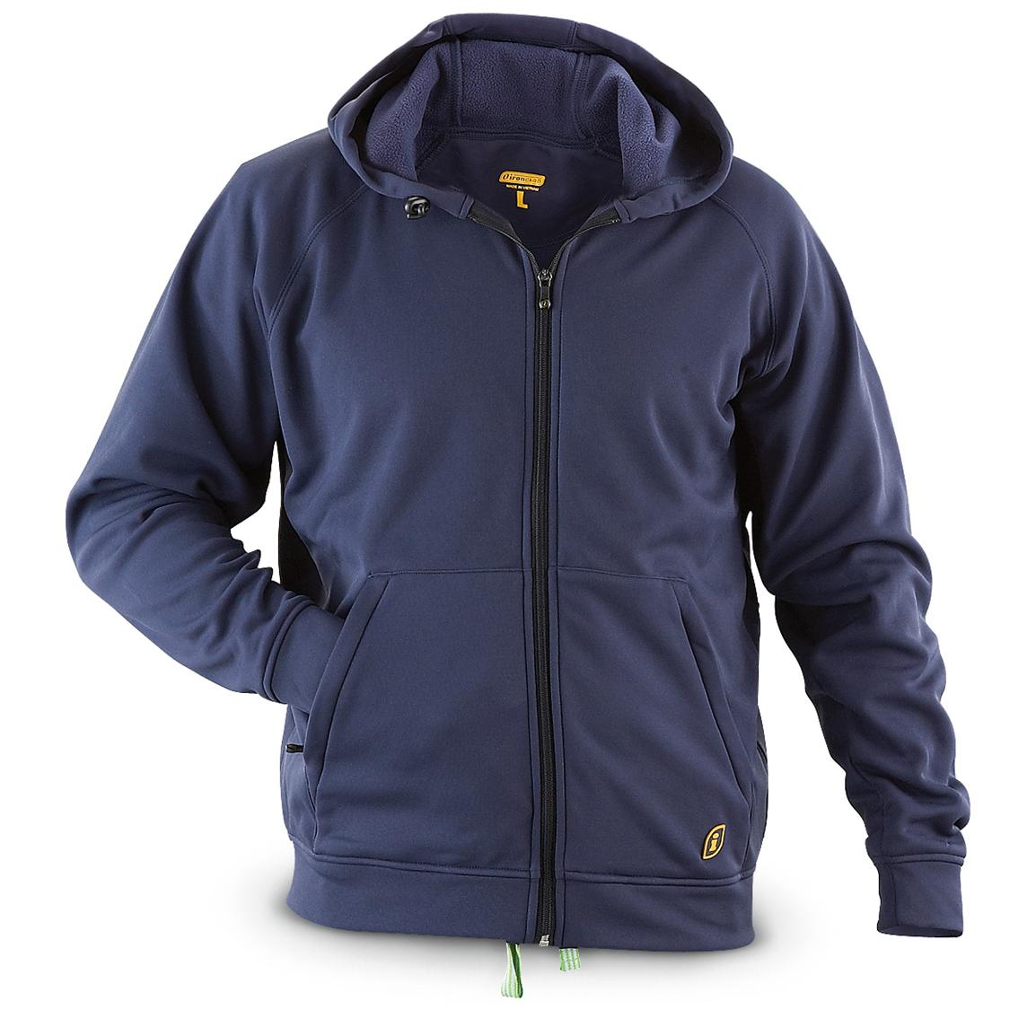 Ironclad® Full-zip Performance Hoodie Jacket, Navy