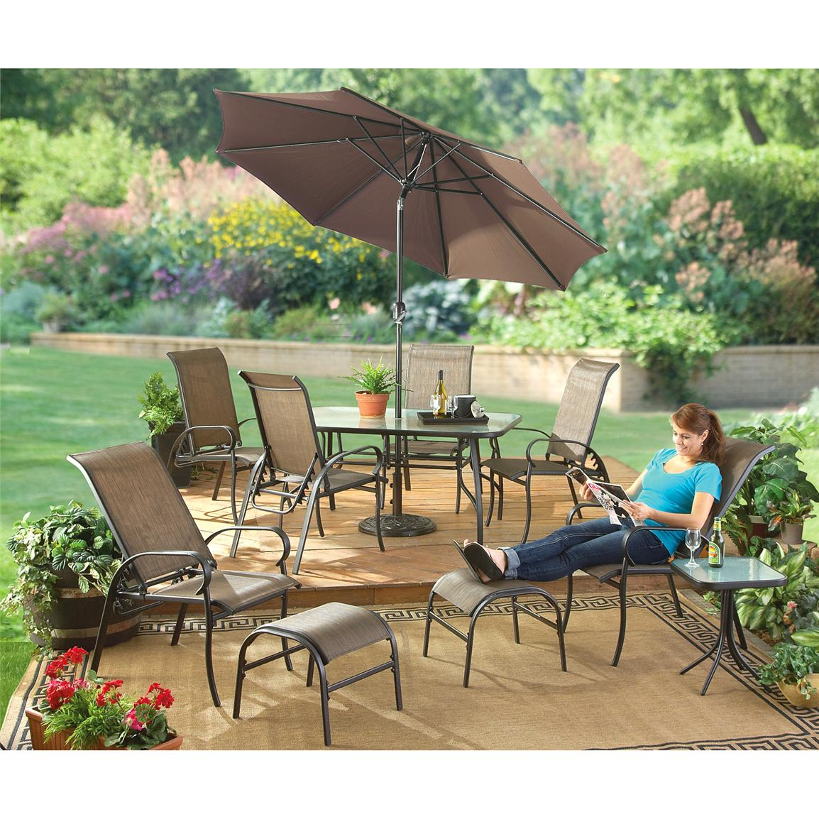 10-Pc. Catalina Patio Set