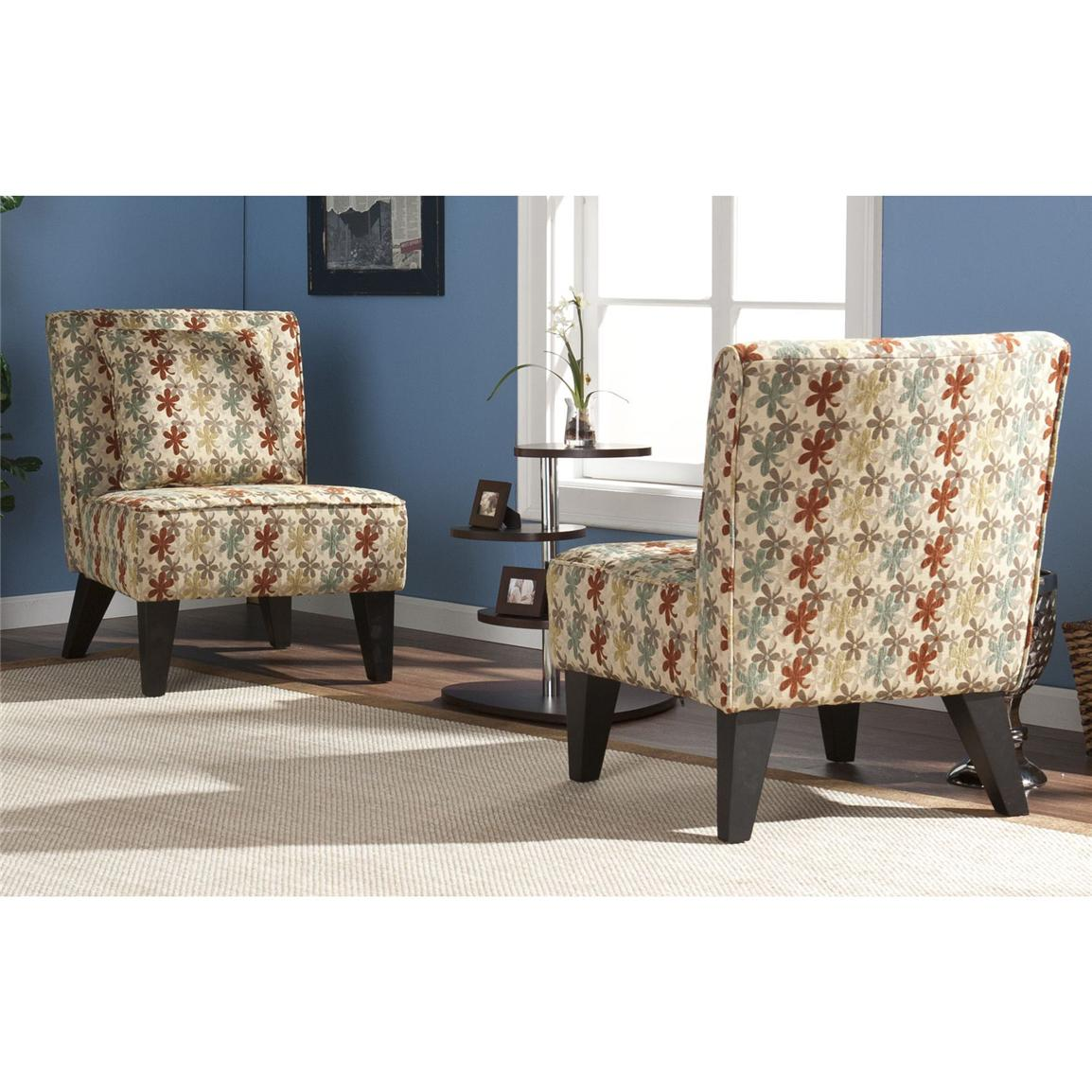 Holly & Martin™ Chappell Hill Chairs / Pillows - Clover Aegean