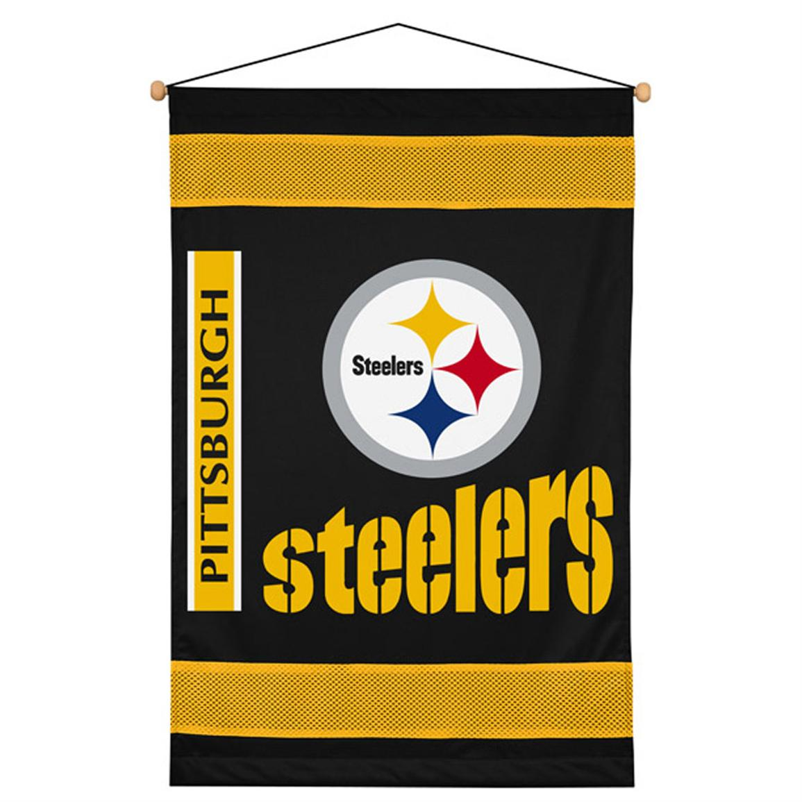 Sports Coverage® NFL Team Wall Hanging, Steelers