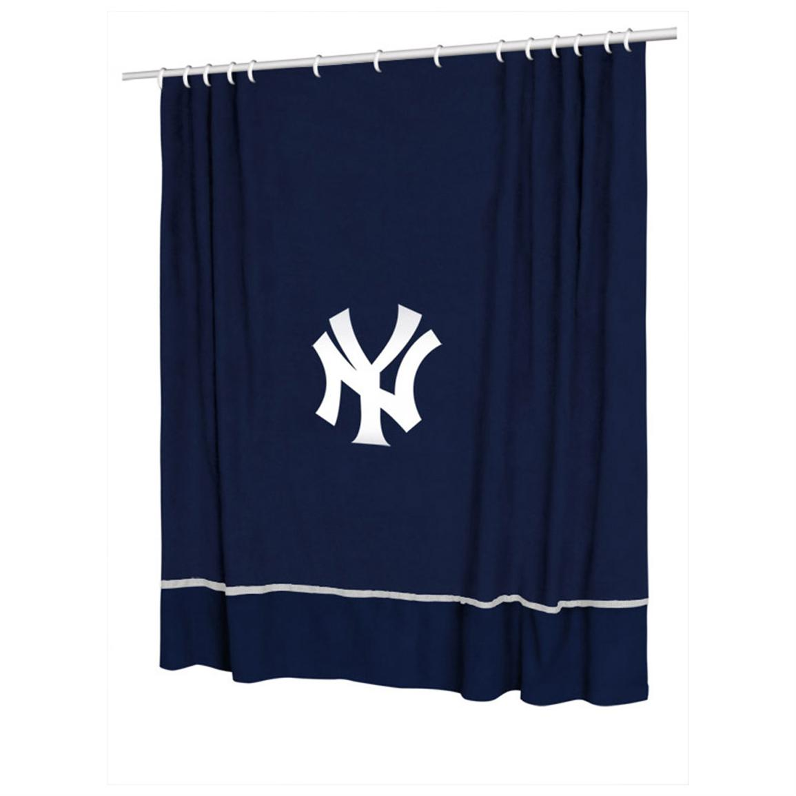 Sports Coverage® MLB Team Shower Curtain, Yankees