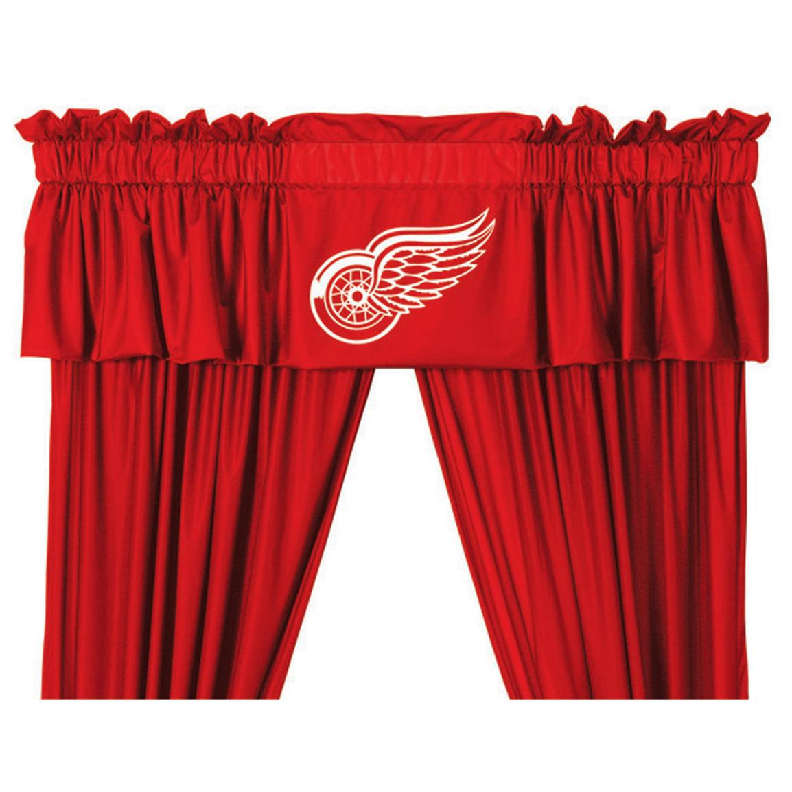Sports Coverage® NHL Team Valance, Detroit Red Wings