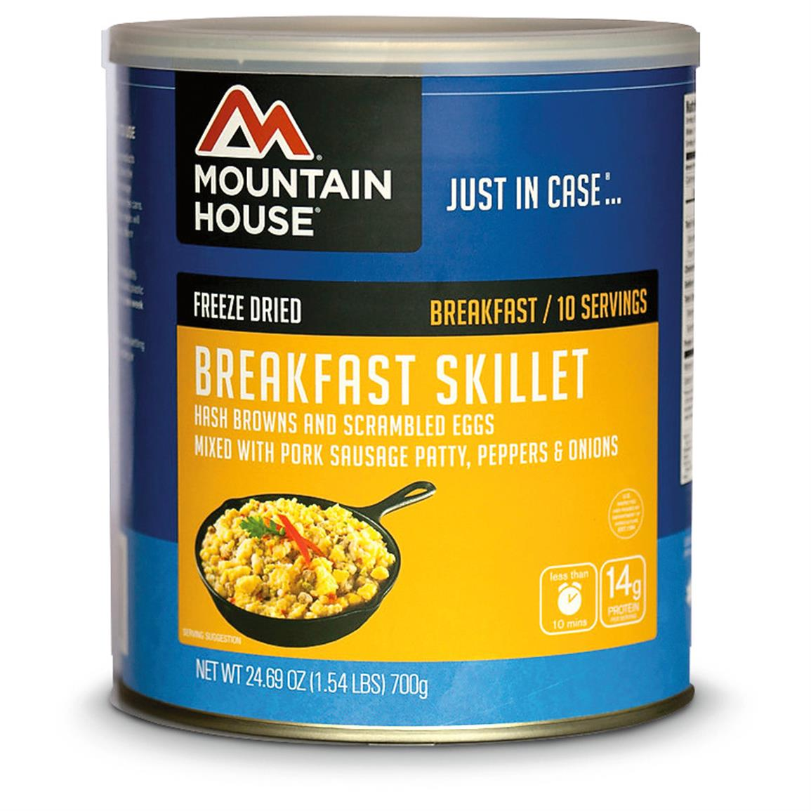 Mountain House Emergency Food Freeze-Dried Breakfast Skillet