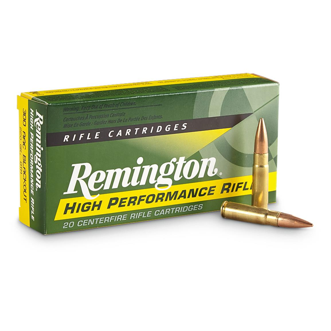 Remington, .300 AAC Blackout, 220 Grain, Open Tip Match Sub-Sonic, 20 Rounds