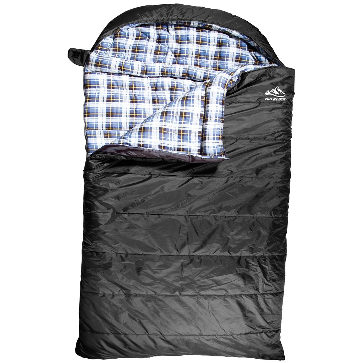 Big River Outdoors™ 0 Degree F 2-person Sleeping Bag