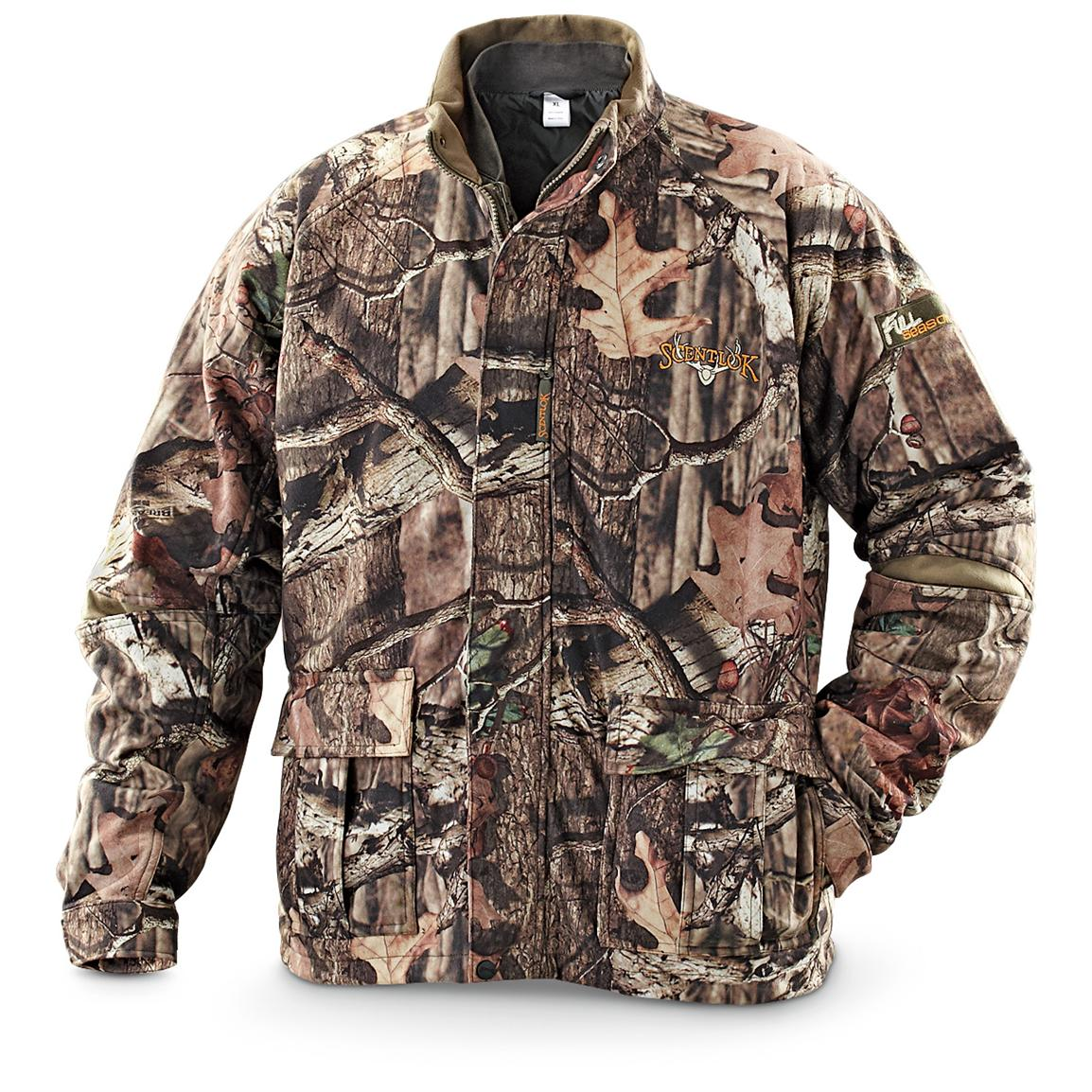 Scent-Lok® Full Season™ Zip-out Lined Jacket, Realtree® AP&#153