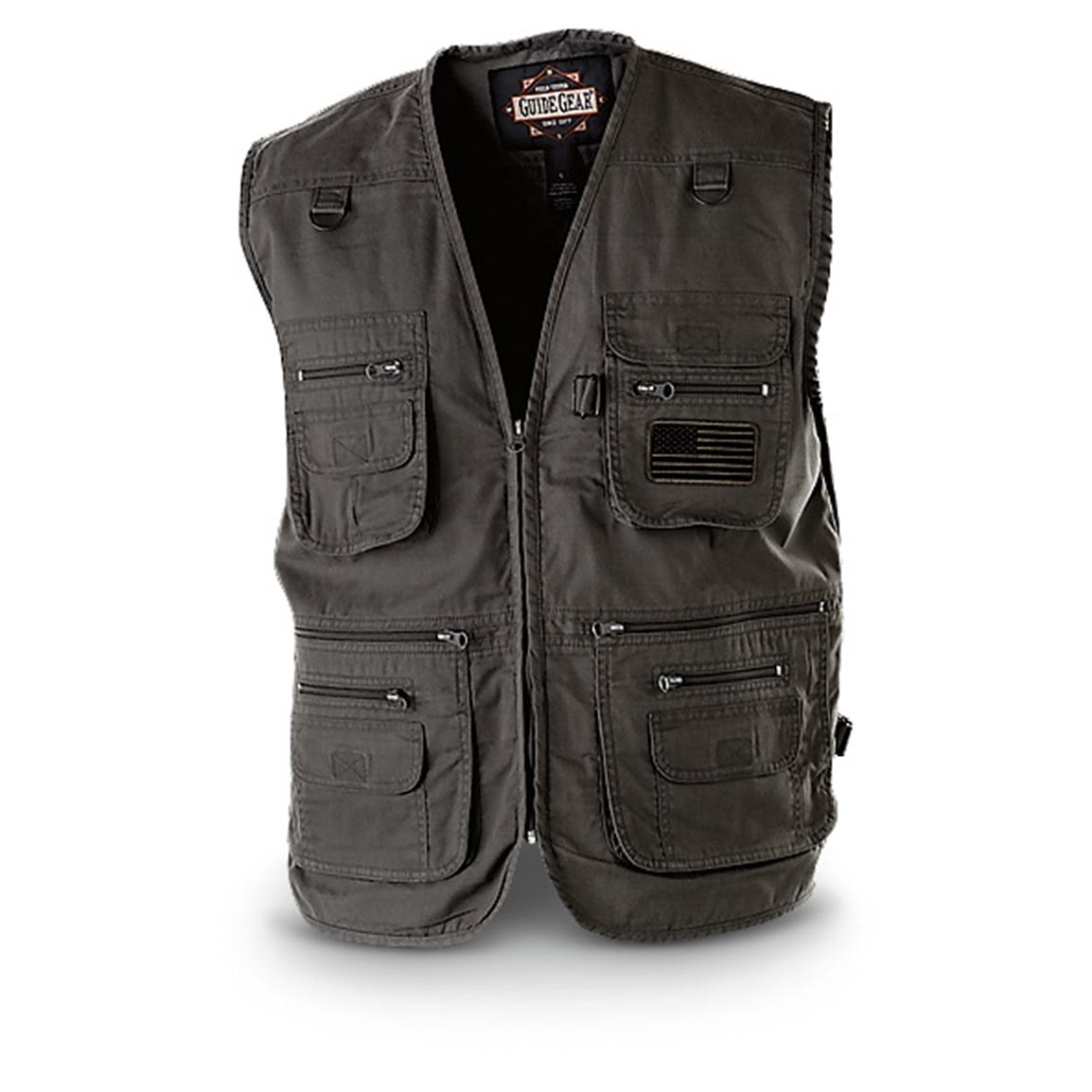 Guide Gear Men's Concealment Vest, Black