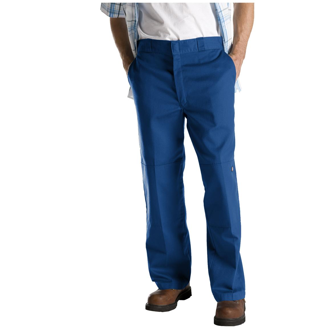 Dickies® Loose Fit Double-Knee Work Pants, Royal Blue