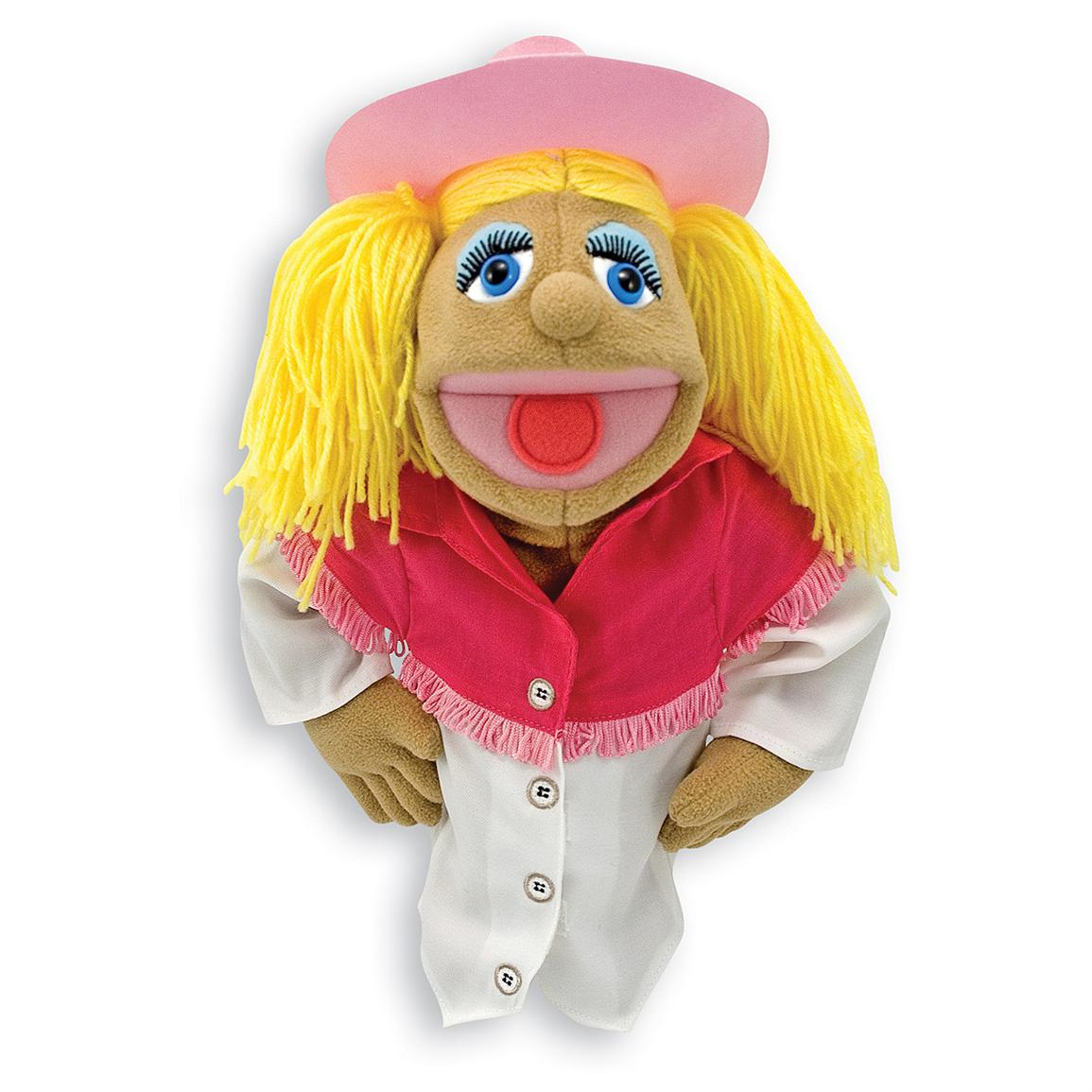 Melissa & Doug® Cowgirl Puppet