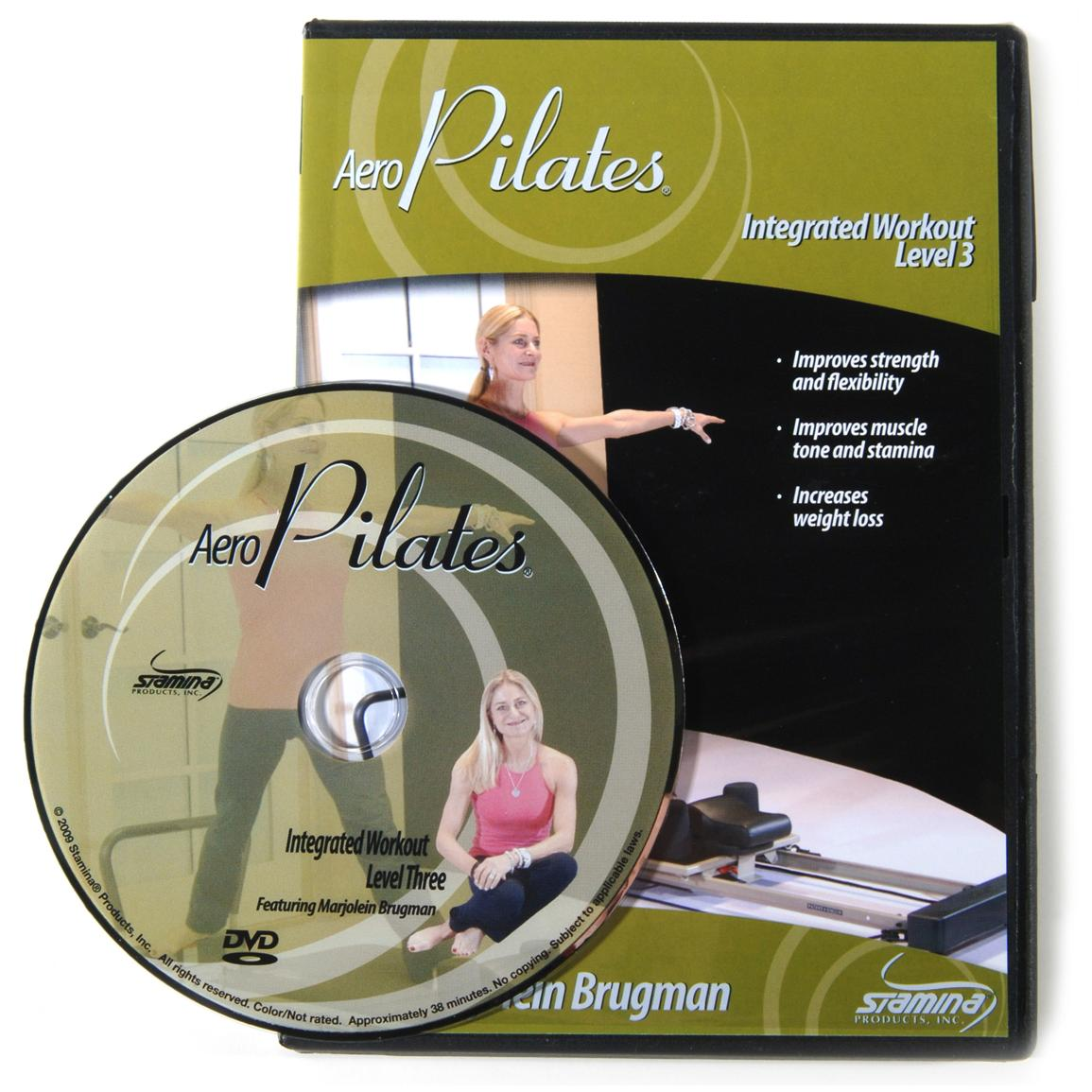 Stamina® AeroPilates® Integrated Workout Level Three DVD with Marjolein Brugman