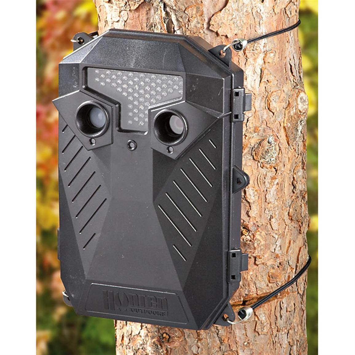 Hunten Outdoors® 5MP Infrared Game Camera with 6V Battery Pack
