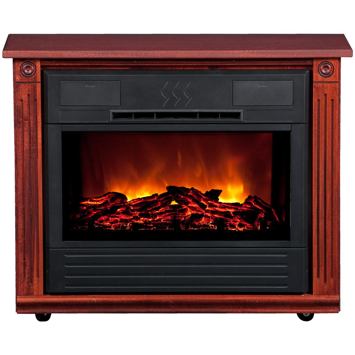 Amish Roll And Glow Electric Fireplace Reviews Fireplaces