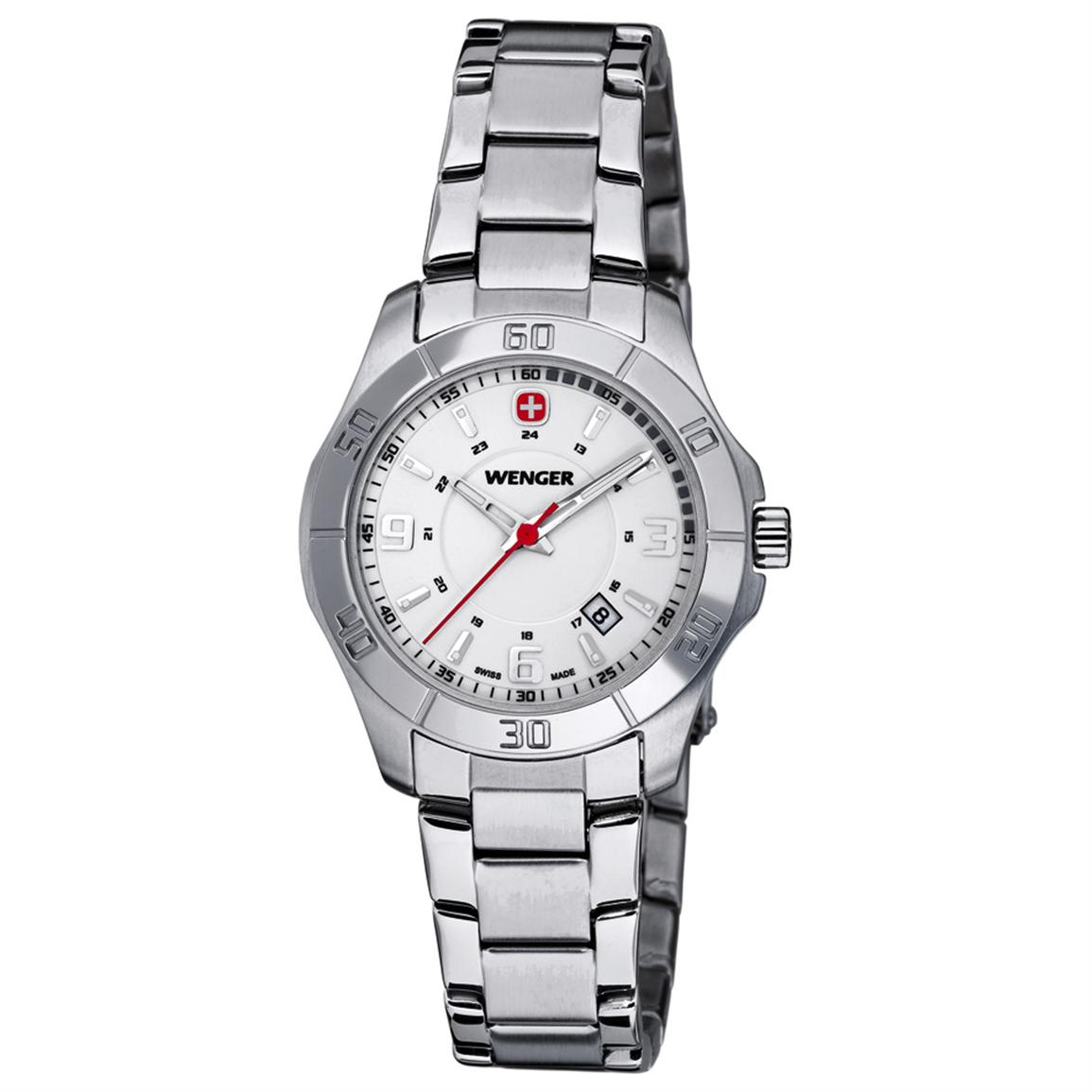 Women's Wenger® 70499 Alpine Lady Watch with Stainless Steel Band