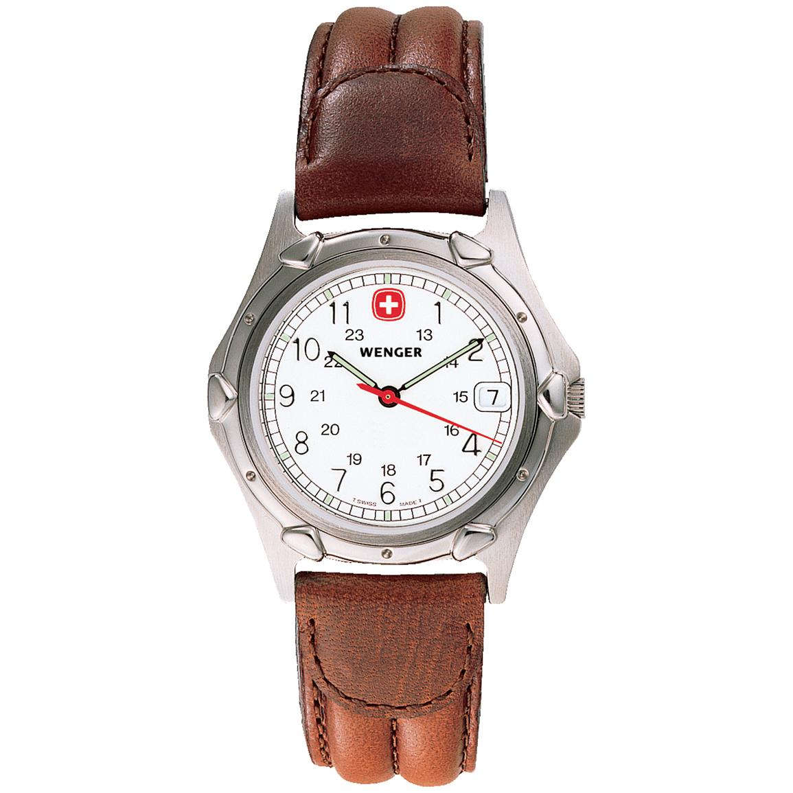 Men 39 s wenger 70100 standard issue mid size watch 220808 watches at sportsman 39 s guide for Winter watches
