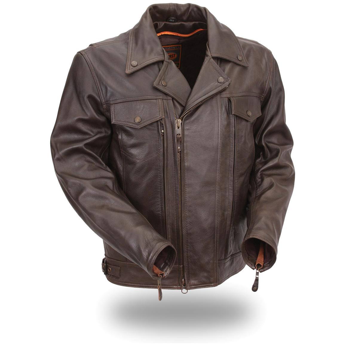 Men's First Classic® High End Utility Cruising Jacket, Brown