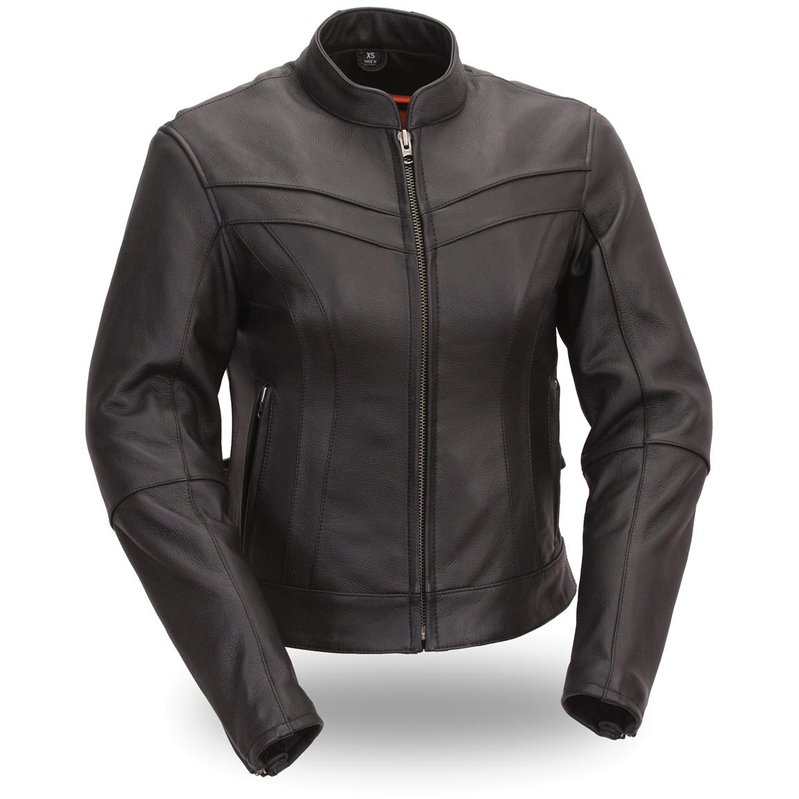 Women's First Classic® Stylish Scooter Jacket, Black