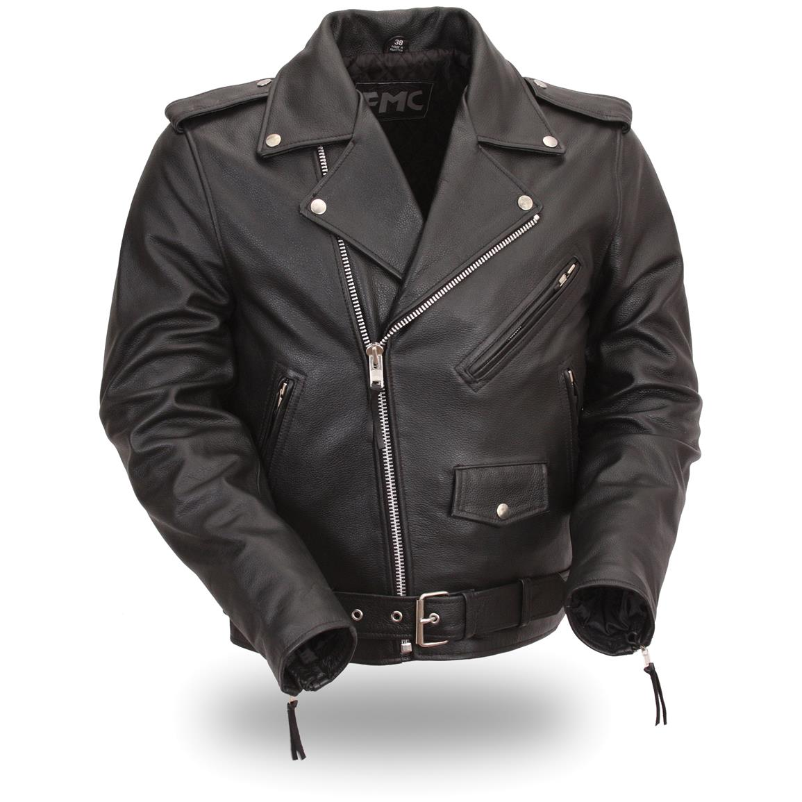 Men's First Manufacturing® Side-Lace Motorcycle Jacket
