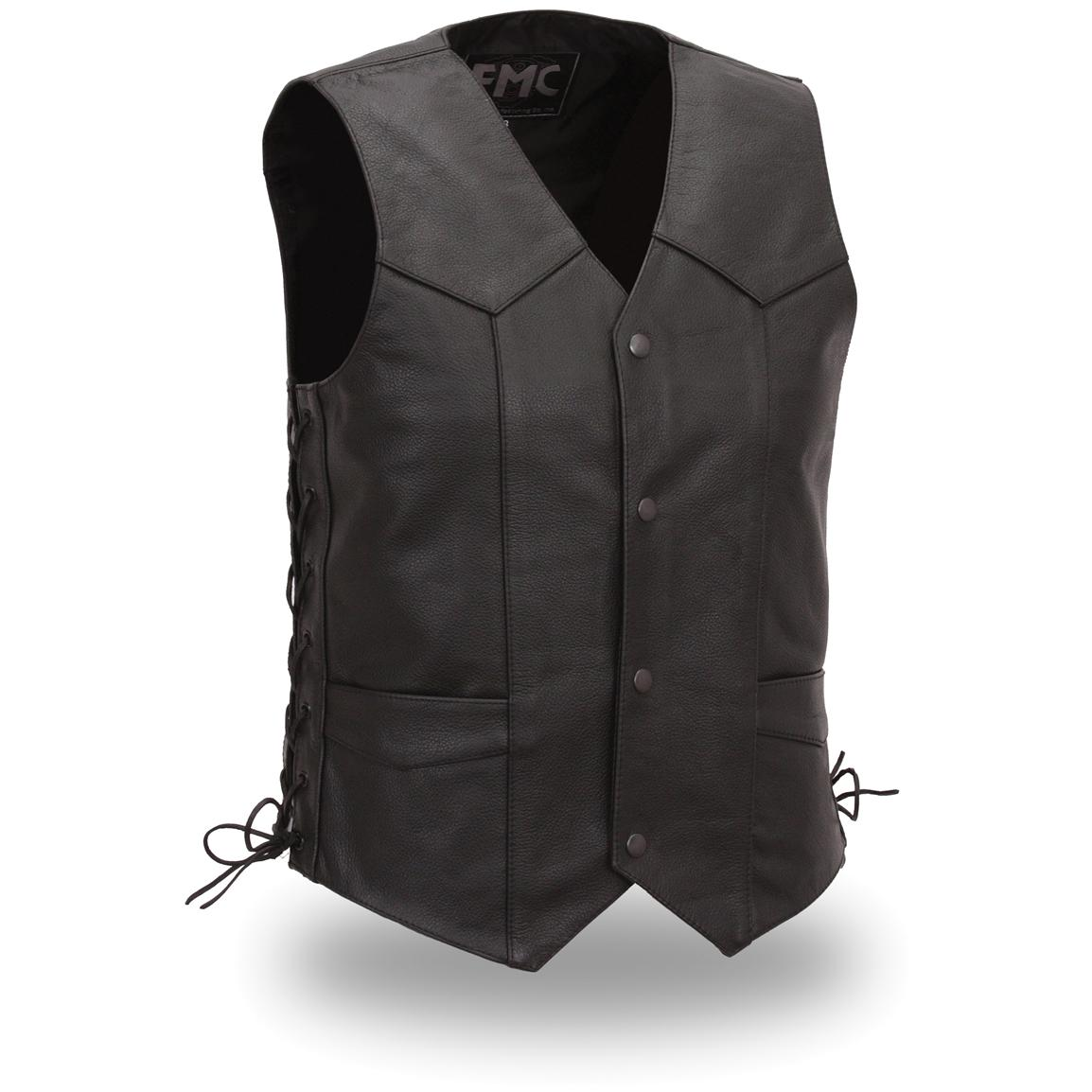 FMC® Classic Side-Lace Vest, Black