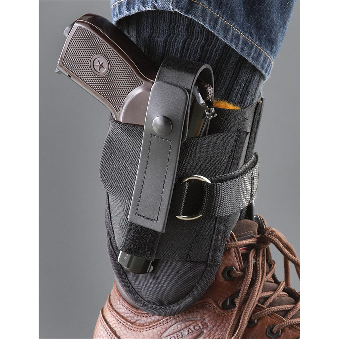 Wolverine Ankle Holster with D-ring Locking System