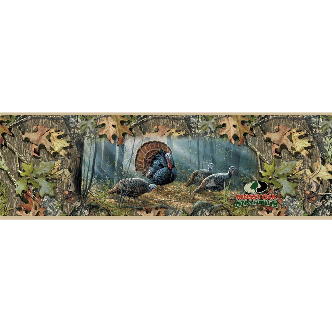 Mossy Oak® Graphics Woodland Splendor Turkey Window Graphic