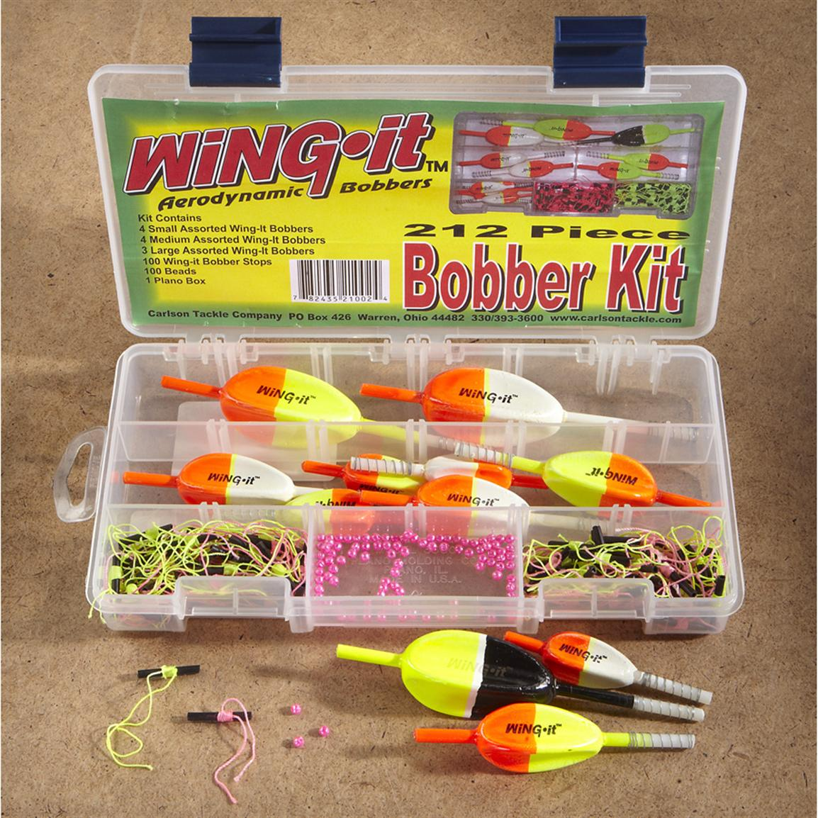 212-Pc. Wing It® Bobber Kit