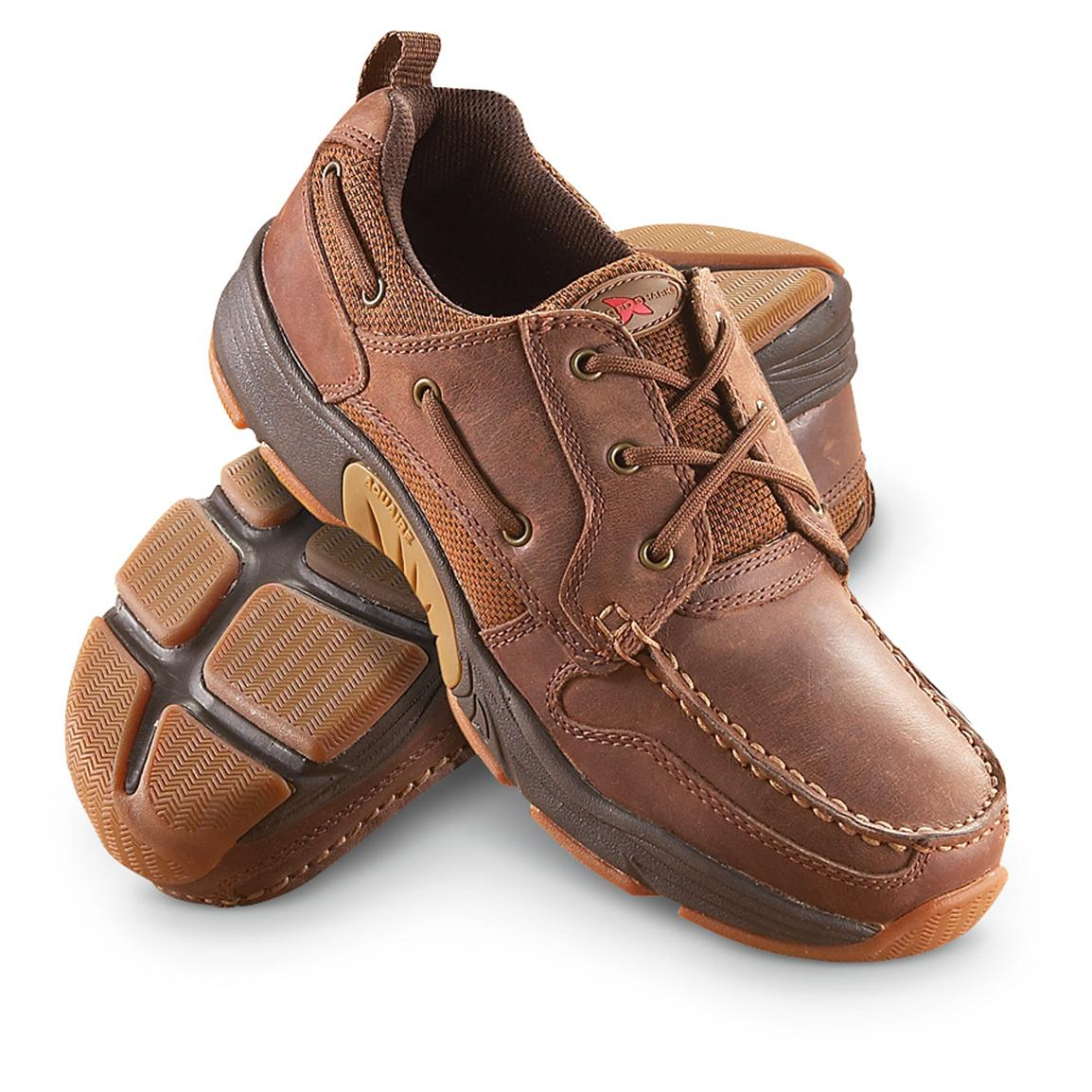 Men S Rugged Shark Axis Boat Shoes