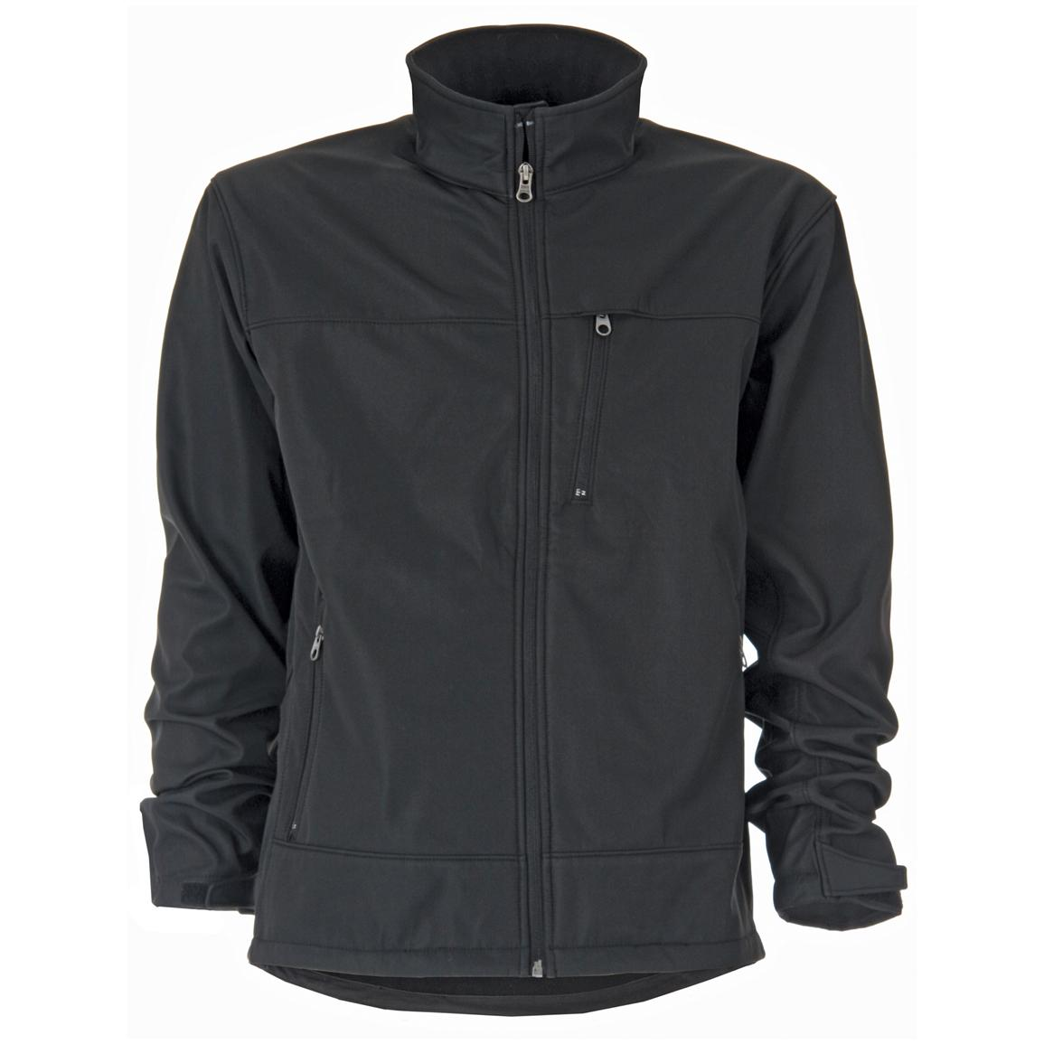 Men's Berne® Soft Shell Jacket, Black