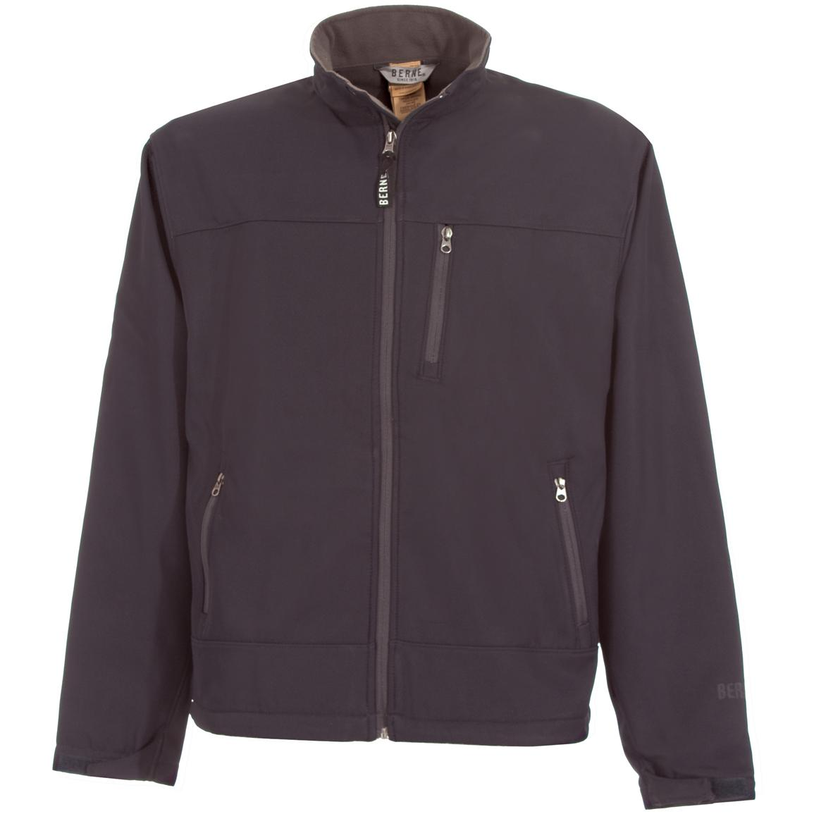 Men's Berne® Soft Shell Jacket, Navy