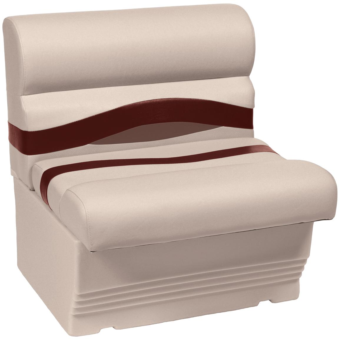 Wise® Premier 1100 Series 27 inch Pontoon Bench Seat, Color C