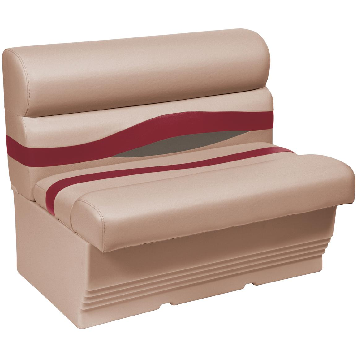 Wise® Premier 1100 Series 27 inch Pontoon Bench Seat, Color E