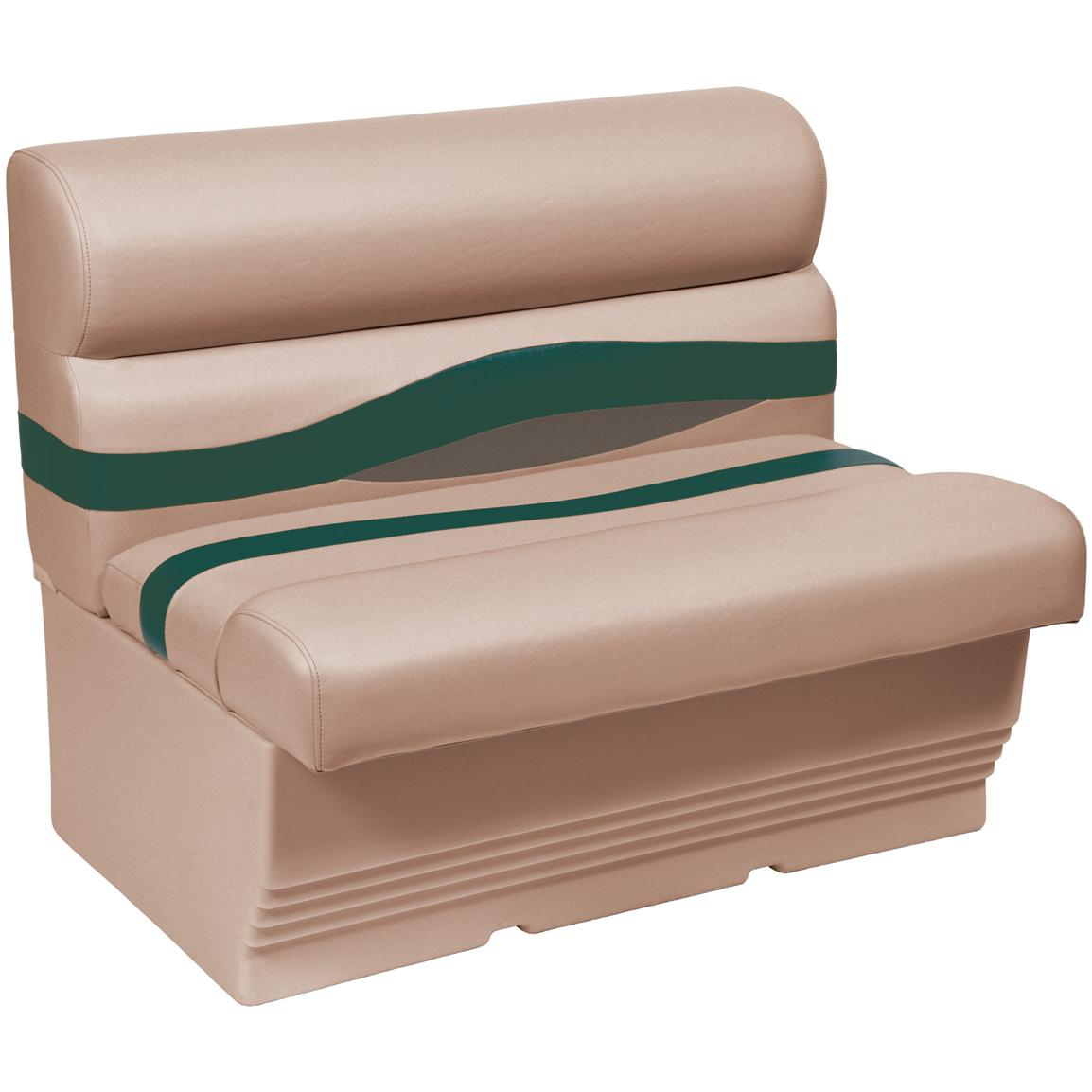 Wise® Premier 1100 Series 27 inch Pontoon Bench Seat, Color F