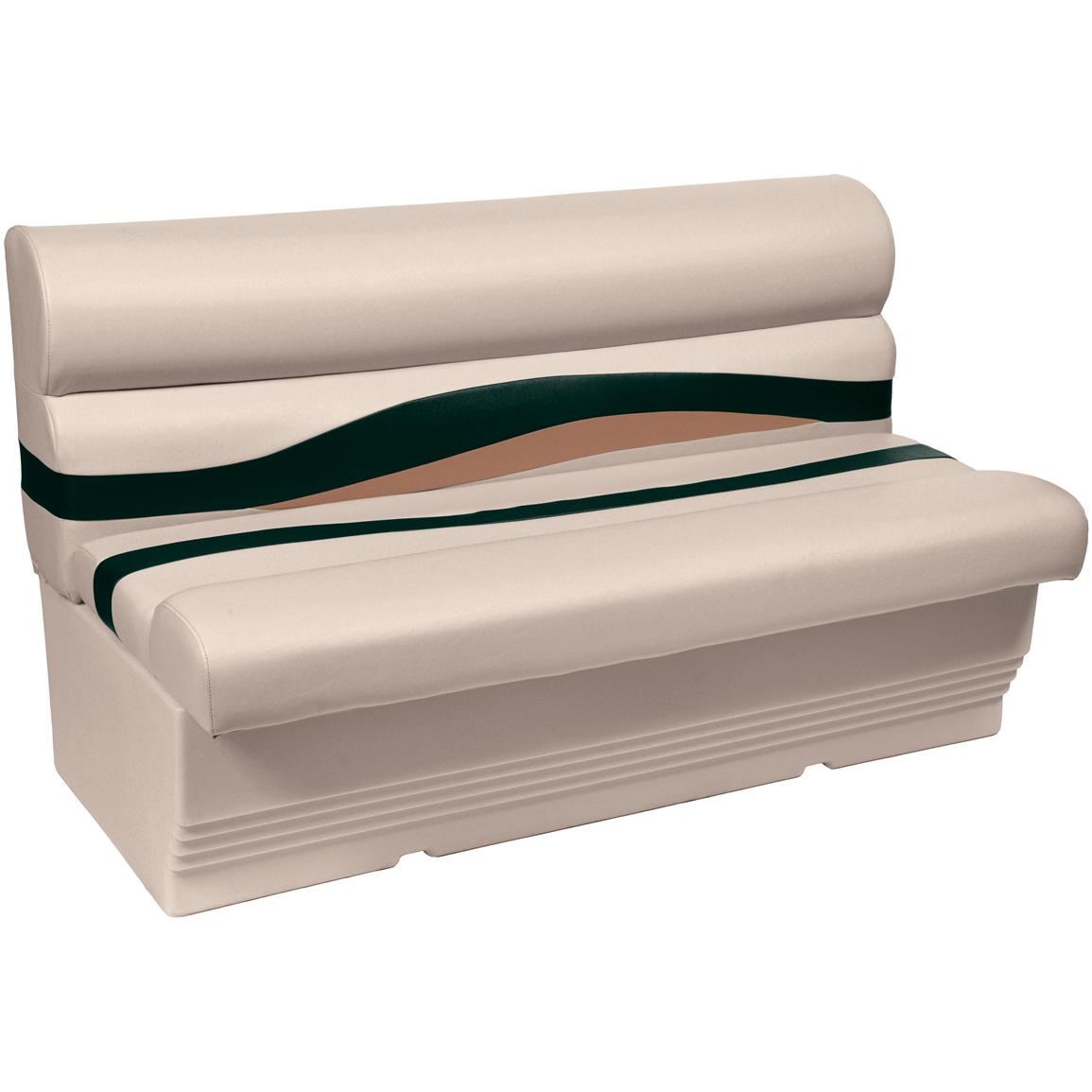 Wise® Premier 1100 Series 50 inch Pontoon Bench Seat, Color B