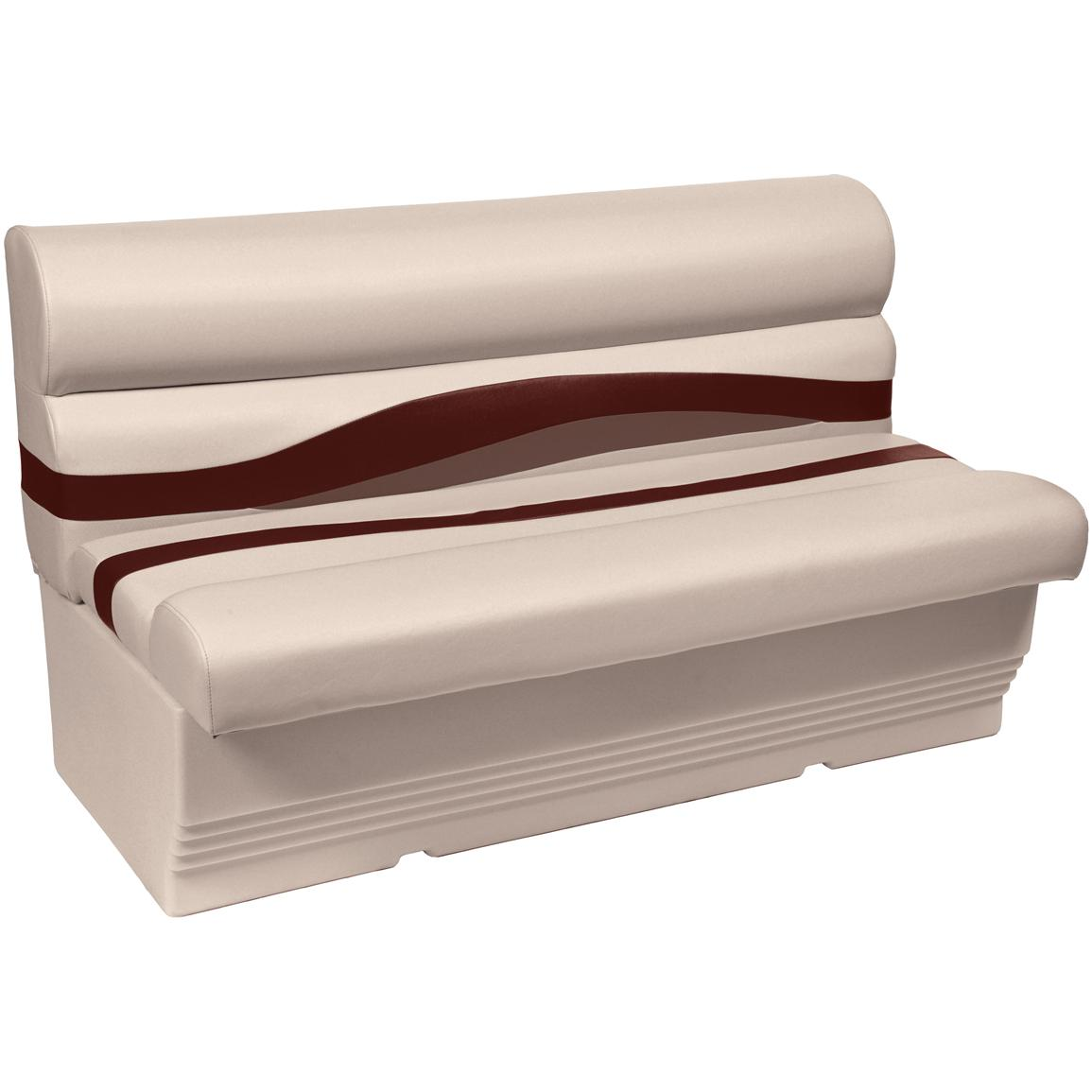 Wise® Premier 1100 Series 50 inch Pontoon Bench Seat, Color C