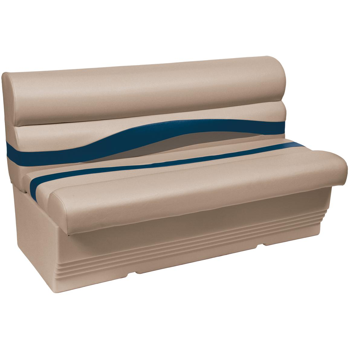 Wise® Premier 1100 Series 50 inch Pontoon Bench Seat, Color D