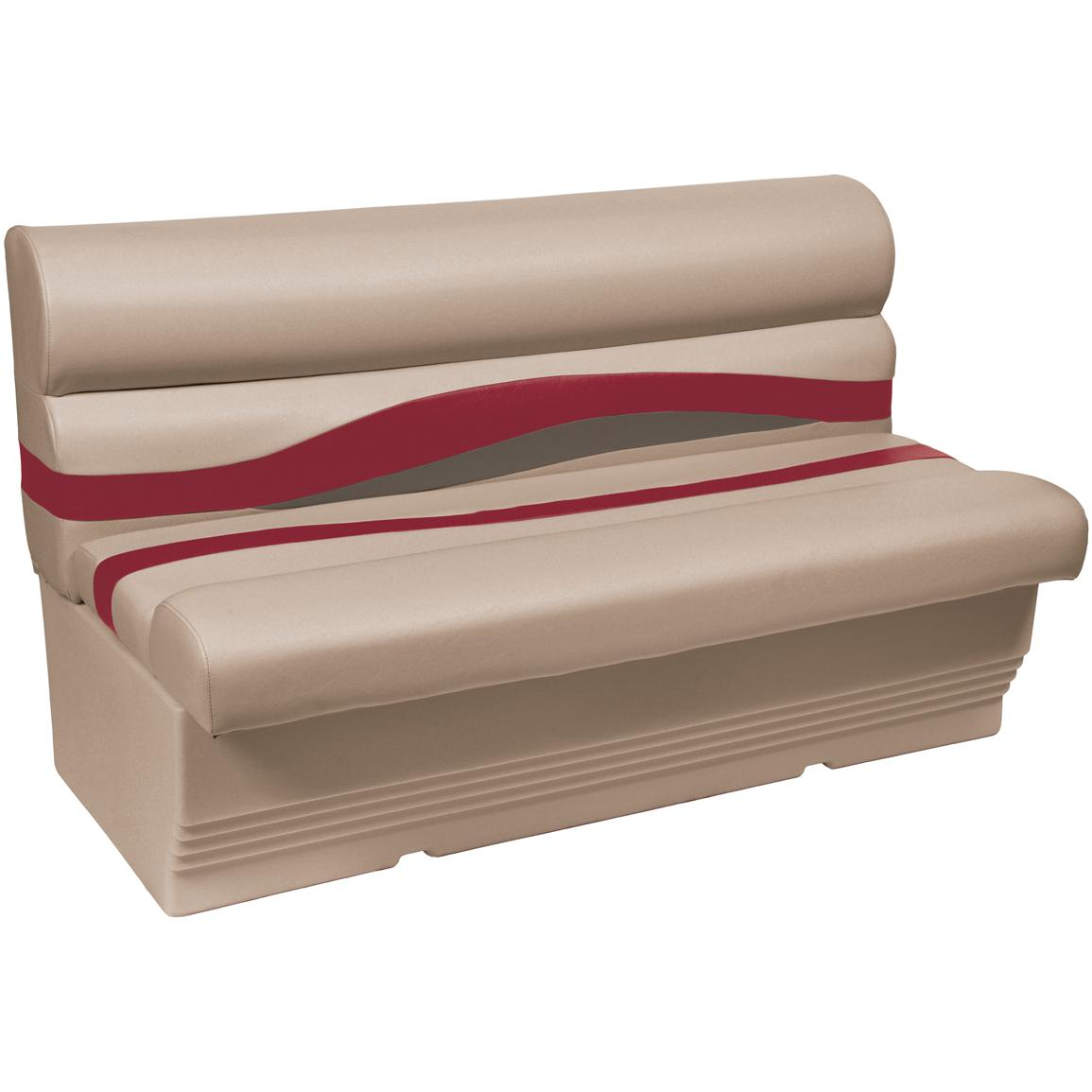 Wise® Premier 1100 Series 50 inch Pontoon Bench Seat, Color E