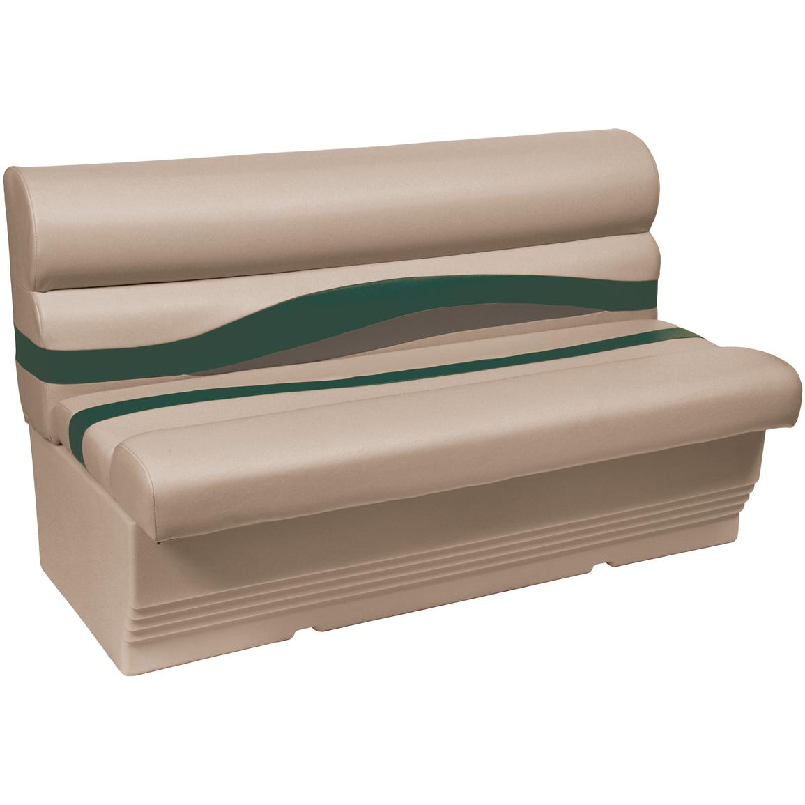 Wise® Premier 1100 Series 50 inch Pontoon Bench Seat, Color F