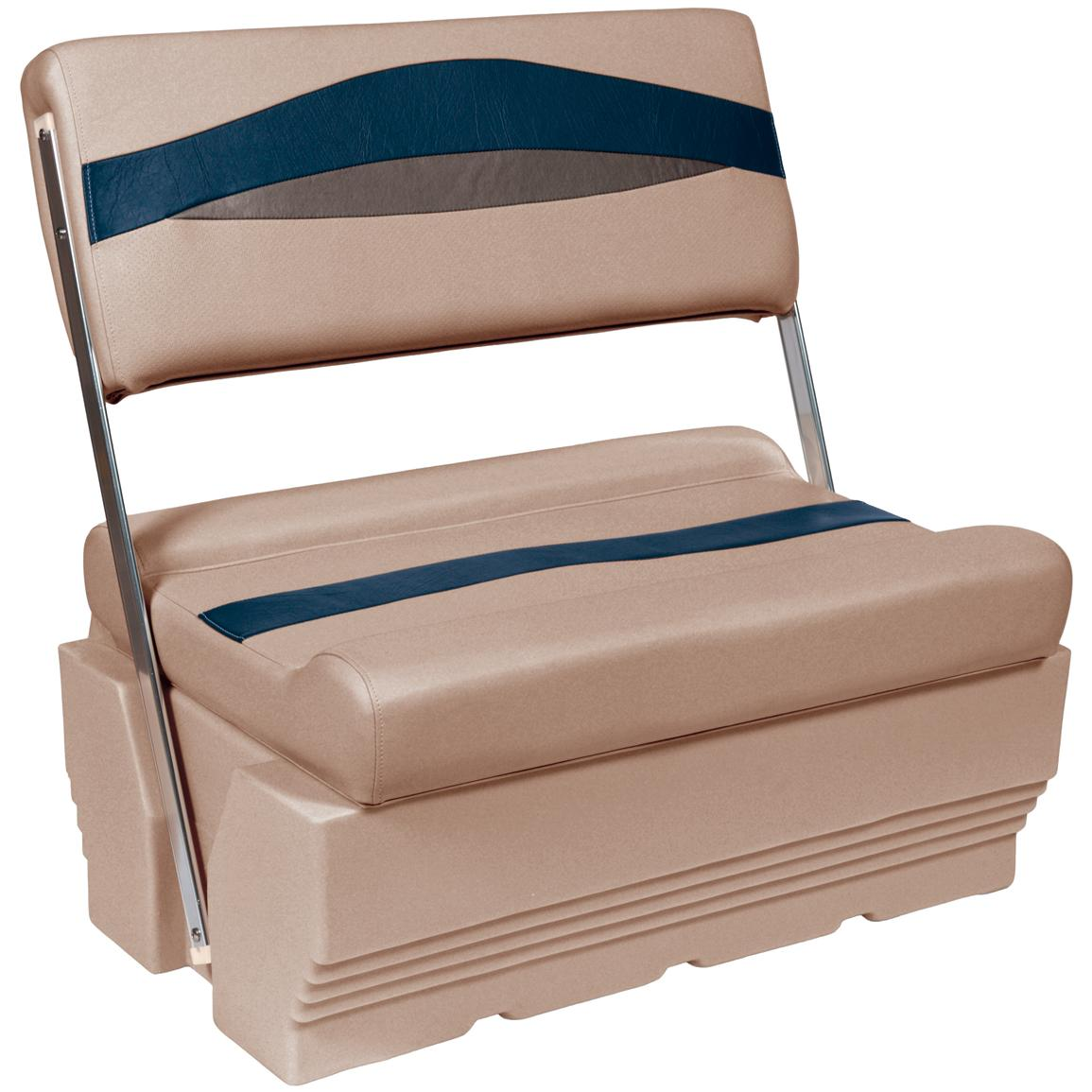 Wise® Premier 1100 Series Pontoon Flip-Flop Seat, Color D