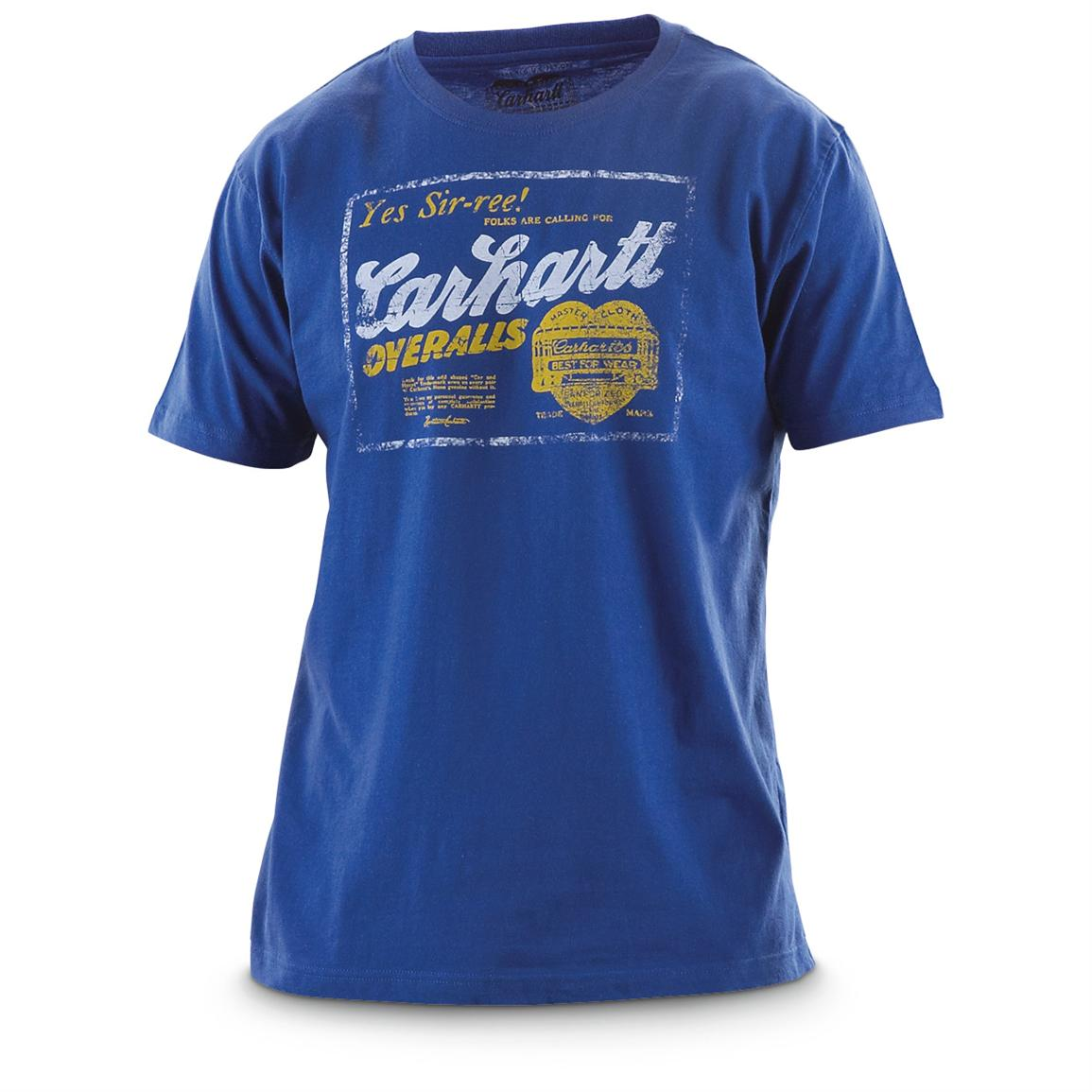 Carhartt® Work Clothing Logo T-shirt, Scout Blue