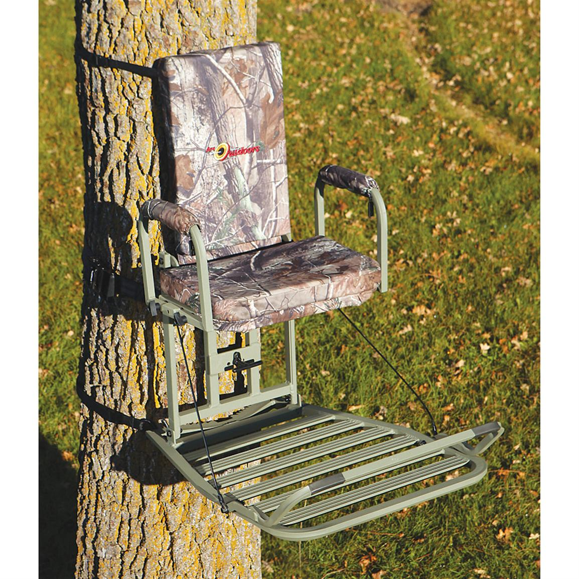 API® Deluxe Baby Grand Hang-on Tree Stand, Realtree® AP