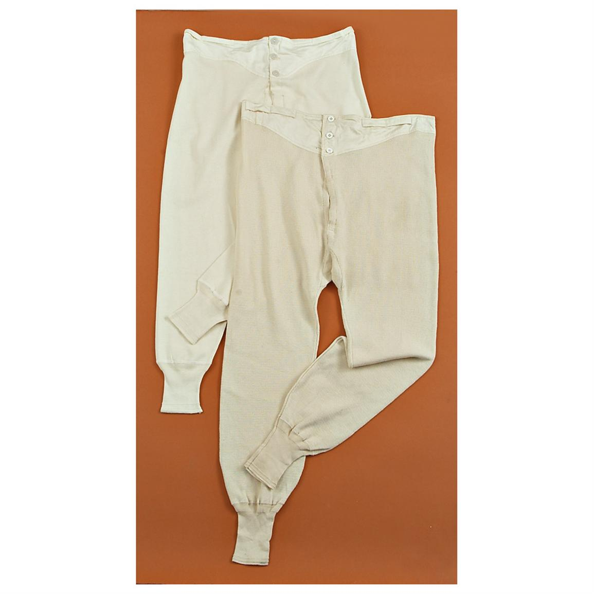 8 - Pk. of Used Swiss Military Surplus Long John Bottoms - 223151 ...