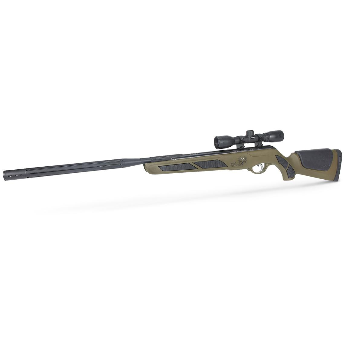 Bone Collector™ Bull Whisper™ .177 cal. Air Rifle with Scope, Forest Green