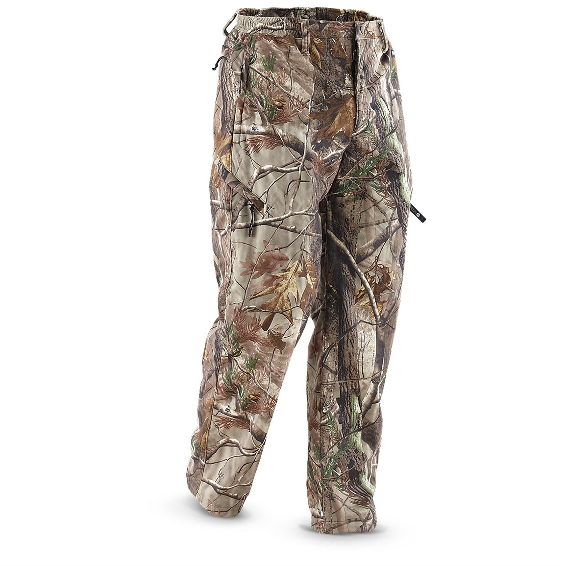 Rivers West® Waterproof Back Country Pants, Realtree® AP™ • Zip-closure pockets