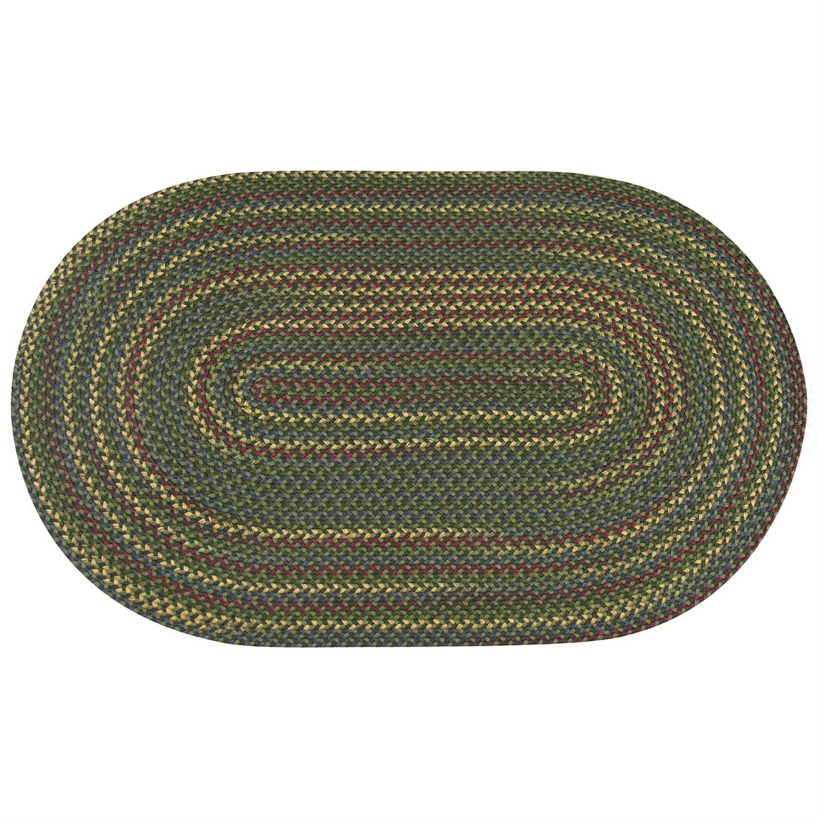 International Textile Mfg. Monticello Rug, Olive