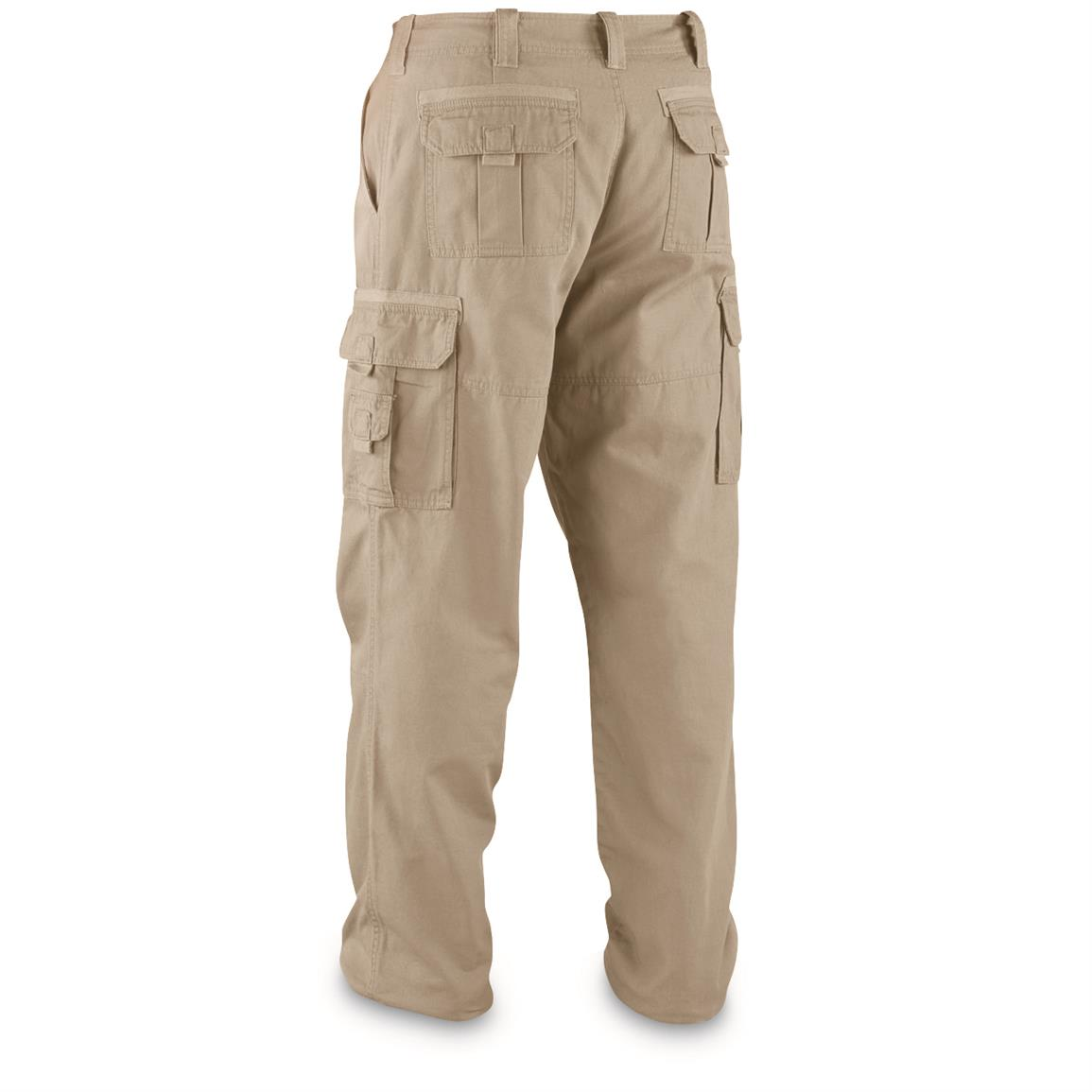 Guide Gear Men's Flannel Lined Cargo Pants - 224165, Insulated ...