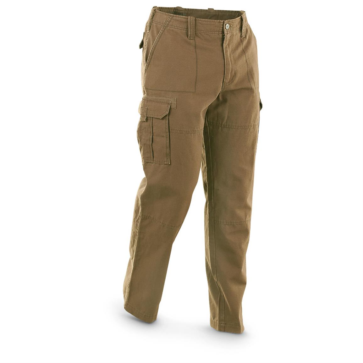 Guide Gear Men's Cargo Pants, British Khaki