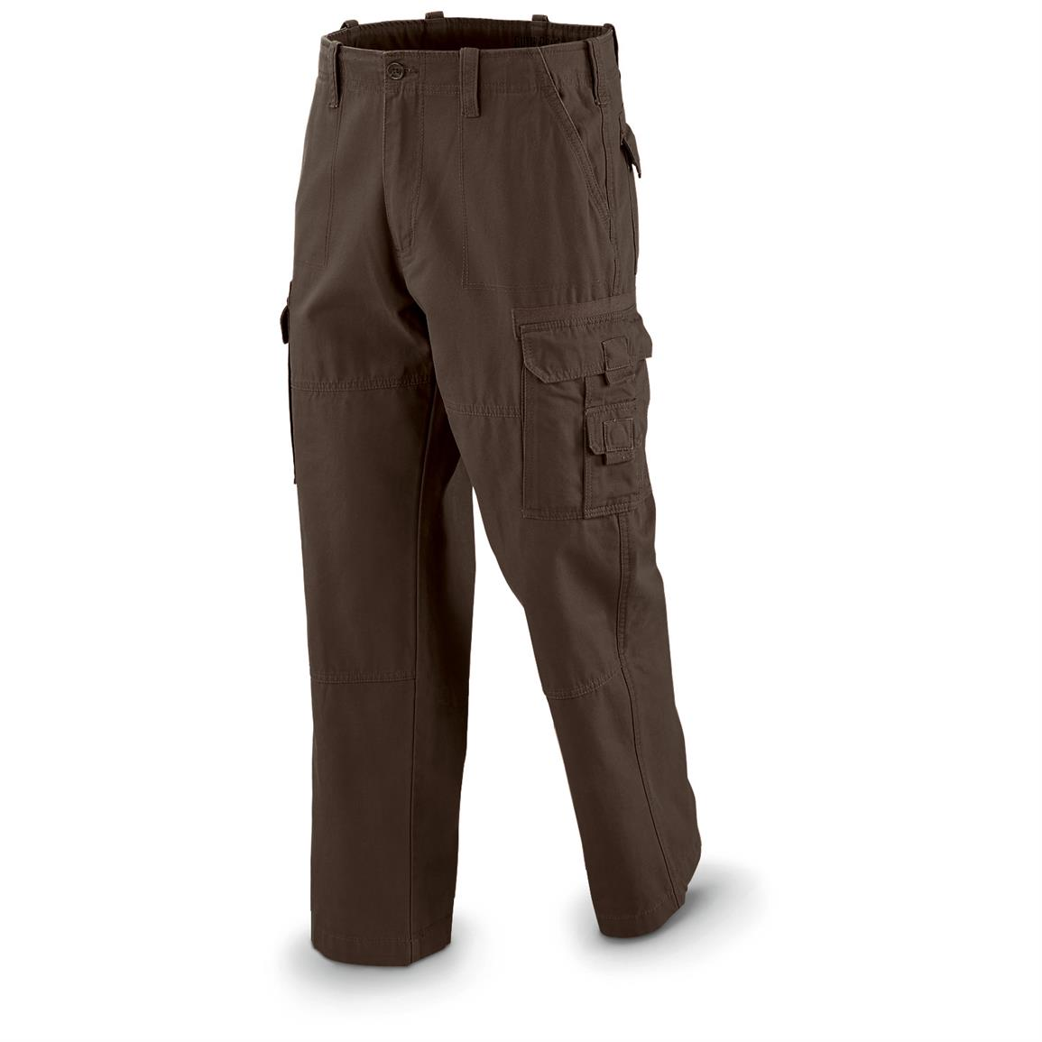Guide Gear Men's Cargo Pants, Brown