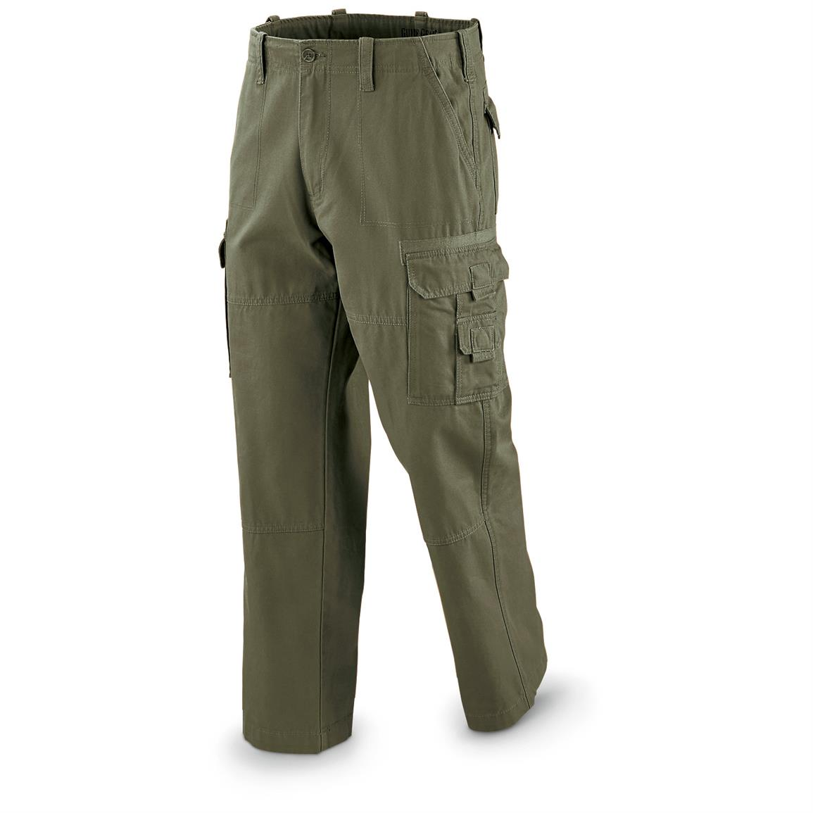 Guide Gear Men's Cargo Pants, Olive
