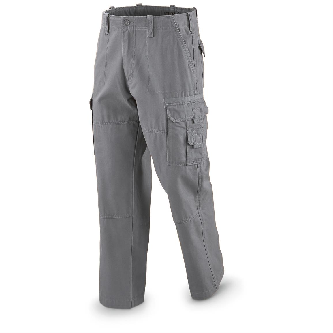 Guide Gear Men's Cargo Pants, Gray