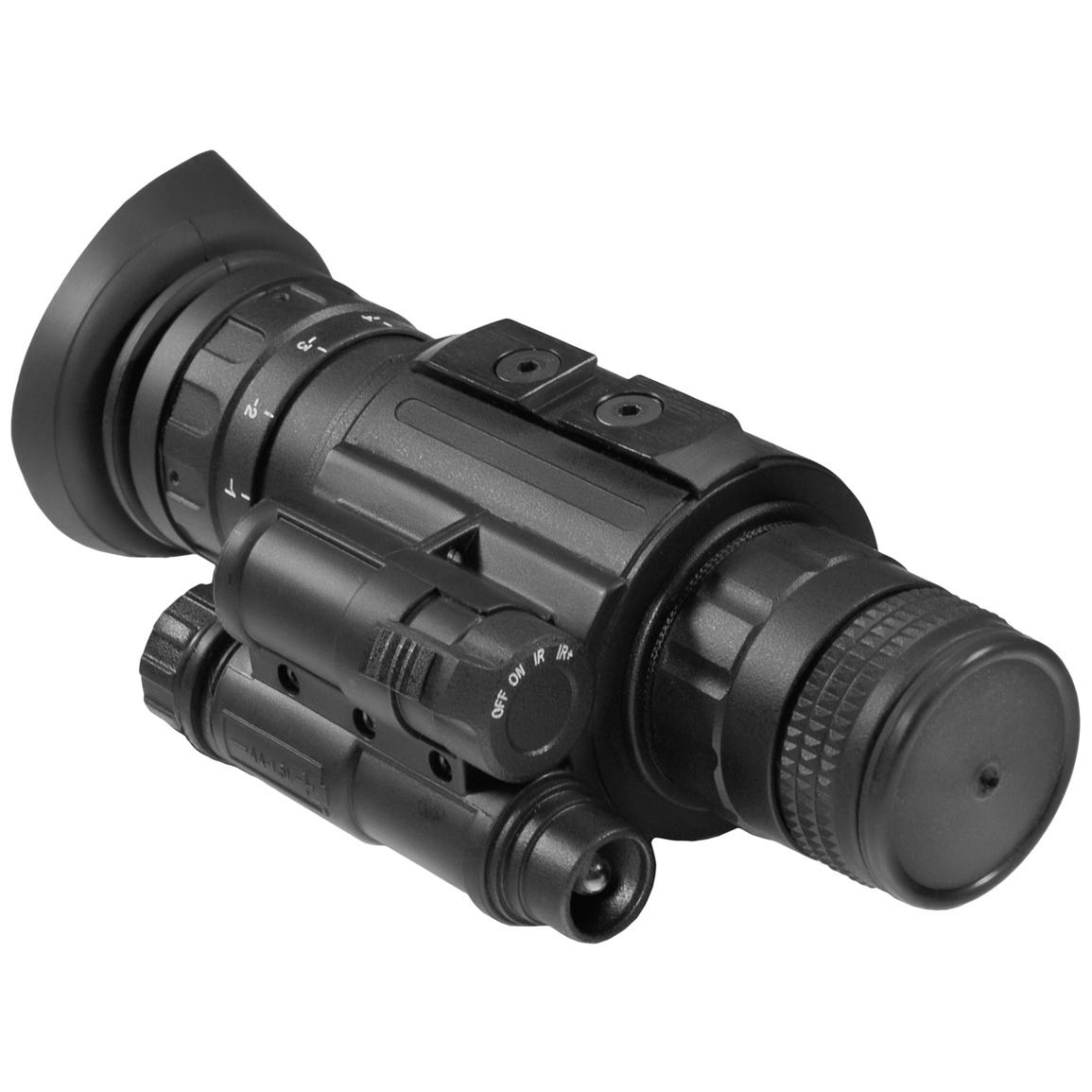 Luna Optics® LN-EM1-MS Gen-2+ Elite Night Vision Monocular