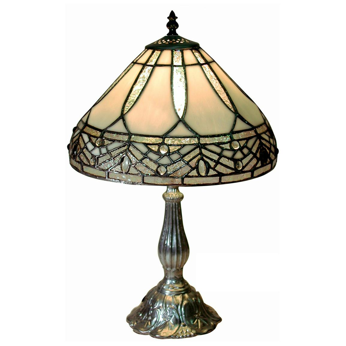 Tiffany-style Petite Table Lamp